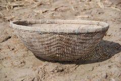 Bamboo fish trap Royalty Free Stock Image