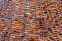Bamboo fish trap, old texture backgrounds Royalty Free Stock Images