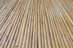 Bamboo floor background Stock Photos