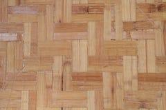 Bamboo flooring Stock Photo