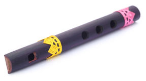 Bamboo flute of Indian subcontinent Stock Photos