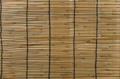 Bamboo folding screen details. Asian Screen royalty free stock image