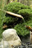 Bamboo fountain Royalty Free Stock Images