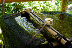 Bamboo Fountain Royalty Free Stock Image