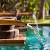 Bamboo fountain Stock Photography