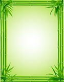 Bamboo frame Stock Photos