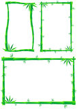 Bamboo Frame Royalty Free Stock Photos