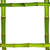 Bamboo frame Royalty Free Stock Images