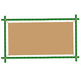 Bamboo Frame. A bamboo frame, frame that can be used for advertising etc. can also be used in menus Royalty Free Stock Images