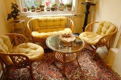 Bamboo Furniture Stock Photography