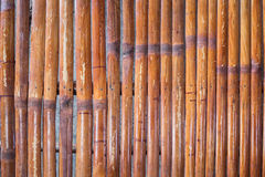 Bamboo furniture close up Stock Image