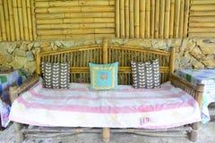 Bamboo furniture Royalty Free Stock Image