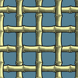 Bamboo grate seamless background Royalty Free Stock Photography