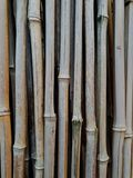 Bamboo poles background texture that tiles seamlessly as a pattern. royalty free stock images