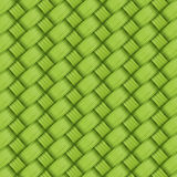 Bamboo green weave texture and background  Royalty Free Stock Photos