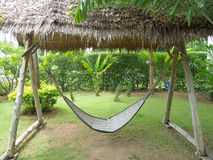 Bamboo hammock Royalty Free Stock Photos