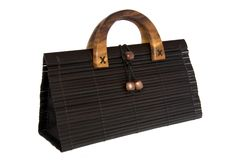 Bamboo Hand Bag Stock Photos
