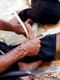 Bamboo hand craft Royalty Free Stock Image