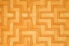 Bamboo handcraft pattern Royalty Free Stock Photography