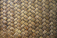 Bamboo handcraft texture Stock Photos