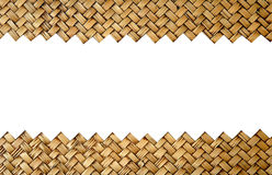 Bamboo handicraft Royalty Free Stock Photography
