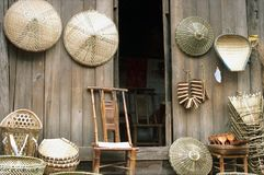 Bamboo Handicraft Royalty Free Stock Photo