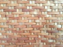 Bamboo handicraft. Bamboo pattern design Royalty Free Stock Photo