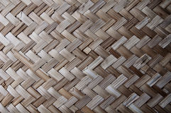 Bamboo handycraft Stock Images