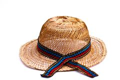 Bamboo hat Royalty Free Stock Photography
