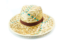 Bamboo hat isolated Royalty Free Stock Photography
