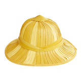 Bamboo hat. Isolated on a white background Stock Image