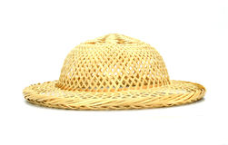 A bamboo hat weave Stock Photos