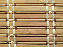 Bamboo horizontal background. Background made of bamboo with horizontal pattern. Textura de bamb Royalty Free Stock Image