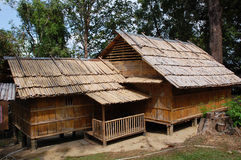 Bamboo house Royalty Free Stock Photos