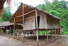 Bamboo house Stock Images