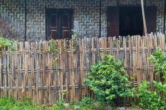 Bamboo house Stock Image