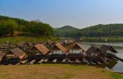 Bamboo house Stock Photos