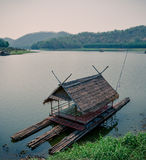 Bamboo house Stock Photography