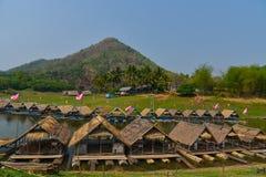 Bamboo house Royalty Free Stock Image