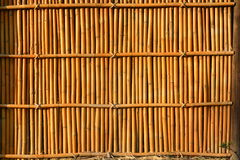 Bamboo house wall Royalty Free Stock Image