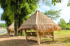 Bamboo hut Stock Photos