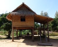 Bamboo hut Royalty Free Stock Images