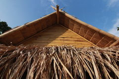 Bamboo Hut in Thailand Royalty Free Stock Photography