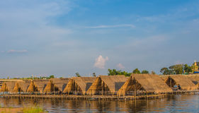 Bamboo Huts Royalty Free Stock Photography