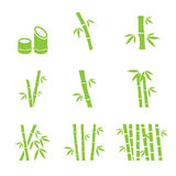 Bamboo icon Royalty Free Stock Image