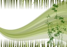 Bamboo Illustration Royalty Free Stock Photo