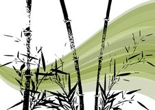 Bamboo Illustration Royalty Free Stock Image
