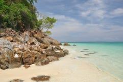 Bamboo island Stock Image
