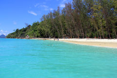 Bamboo island, Krabi. Bamboo island, one of the most favorite attractive place of Krabi Stock Photos