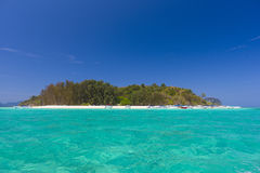 Bamboo island Stock Photos